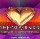 CD - The Heart Meditation by Jem Friar