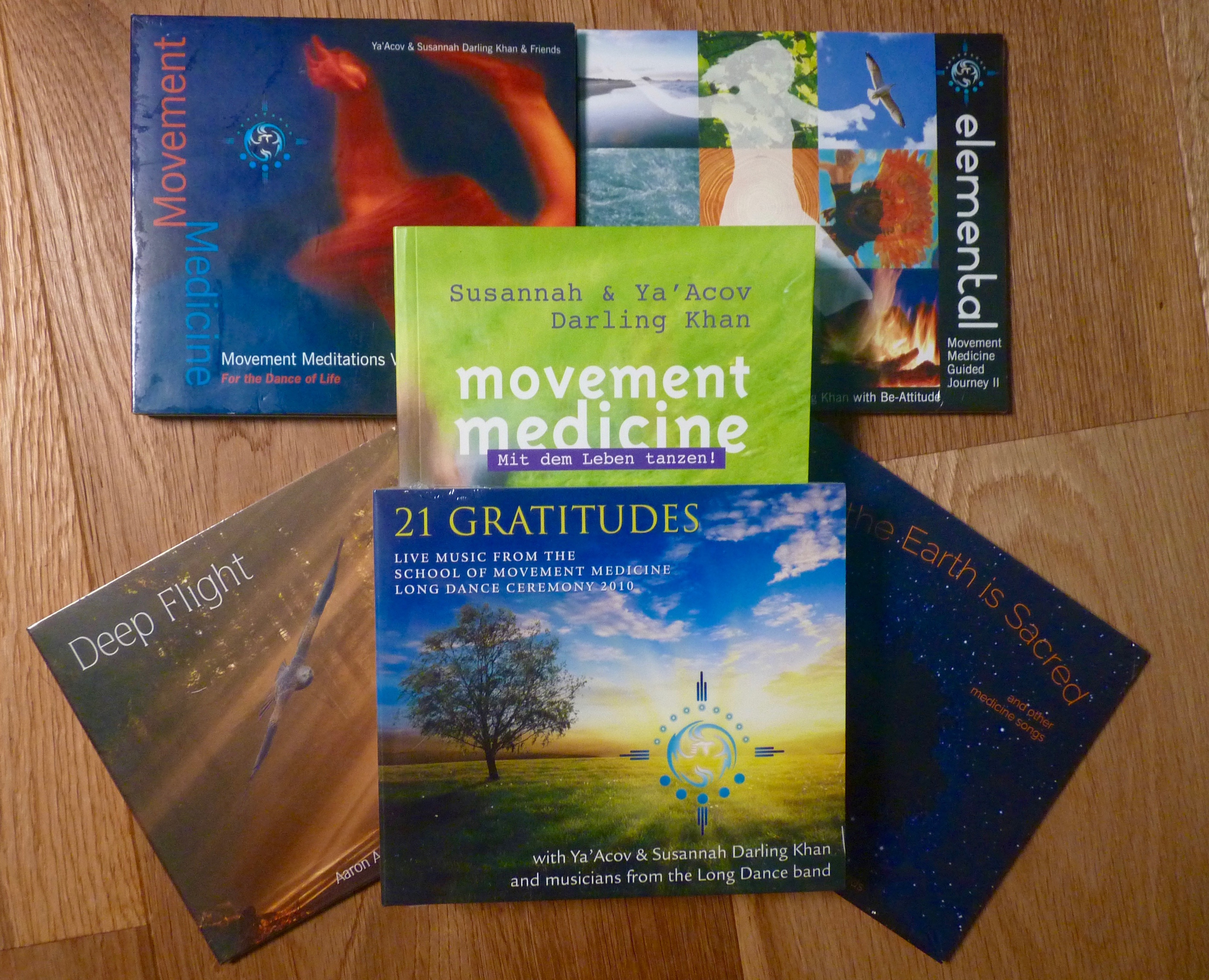 MOVEMENT MEDICINE DELUXE PACK (GERMAN BOOK)